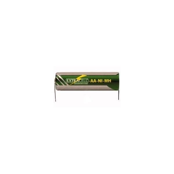 Batteria AA NiMh 1.2V 1.3A con terminali