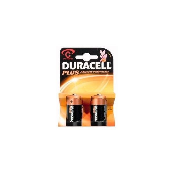 C Alcalina Duracell Plus 1.5V