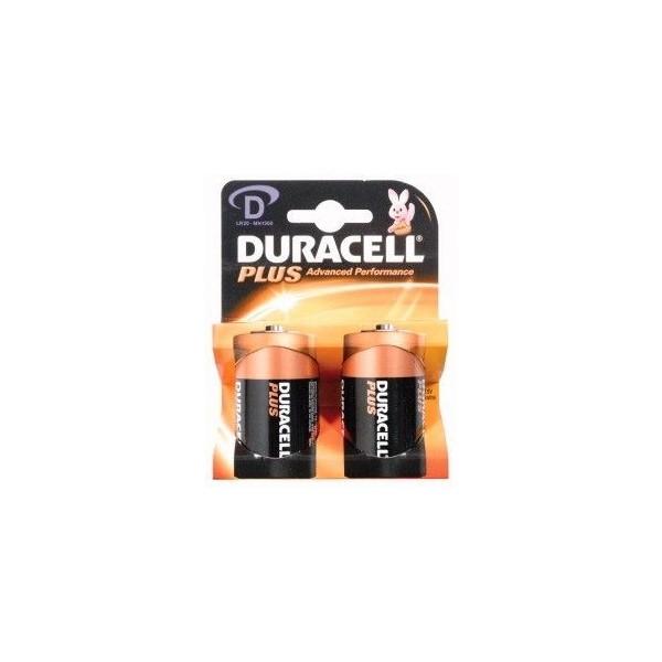 D Alcalina Duracell Plus 1.5V