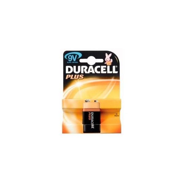 9V Alcalina Duracell Plus