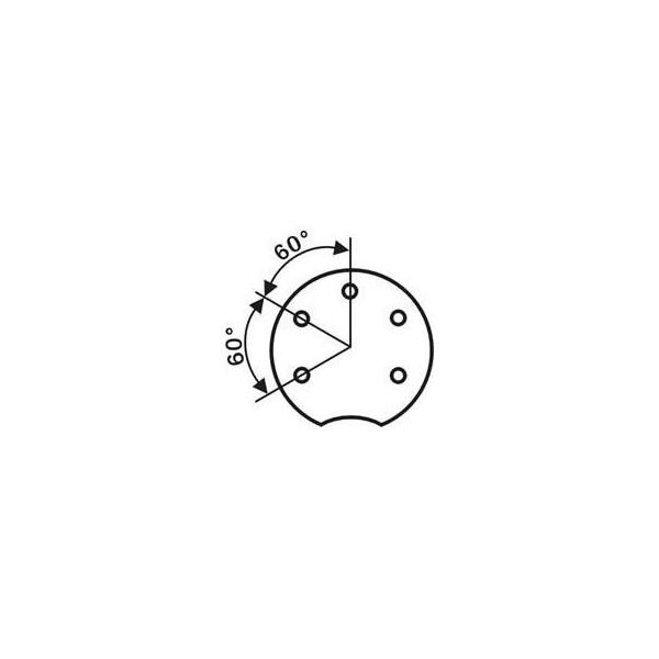 Spina DIN 5 poli 240g