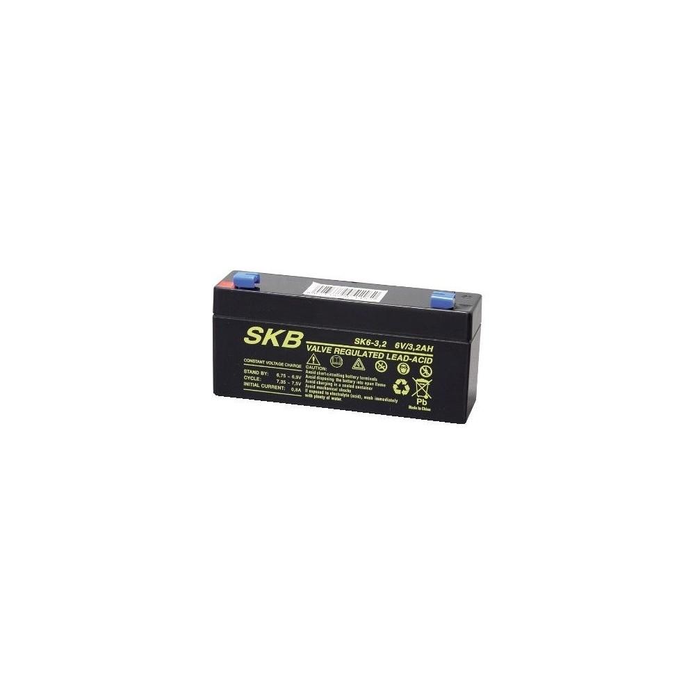 Batteria al piombo 6V 3.2Ah