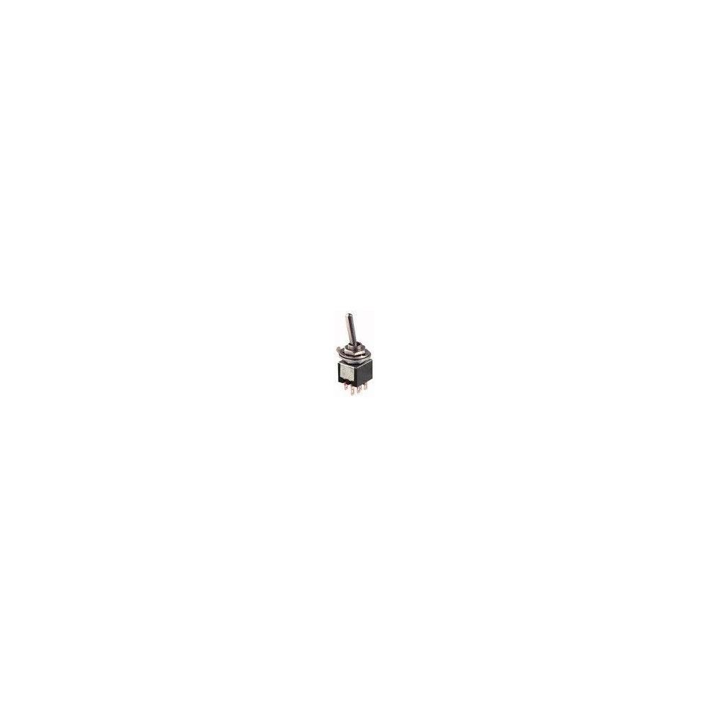 Deviatore micro a leva 2 posizioni 2 scambi ON-ON