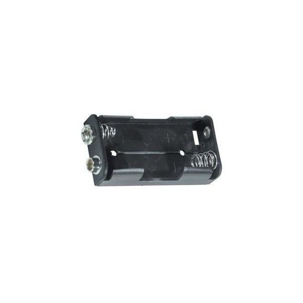 Portabatterie 2 stilo affiancate