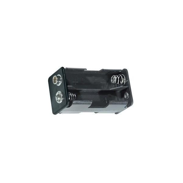 Portabatterie 4 stilo opposte