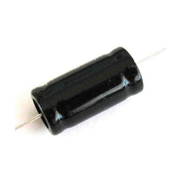 Condensatore elettrolitico 1mf 100V assiale