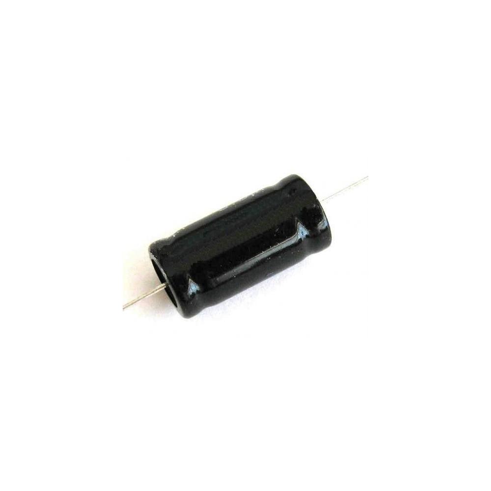 Condensatore elettrolitico 2.2mf 100V assiale