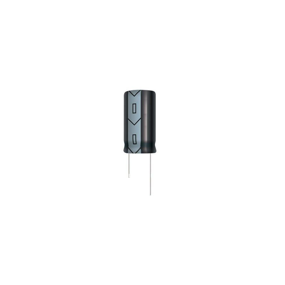 Condensatore elettrolitico 22mf 50V NP verticale