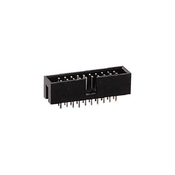 Connettore IDC 10 poli maschio c.s.
