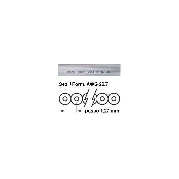Cavo Flat 34 poli TASKER C175