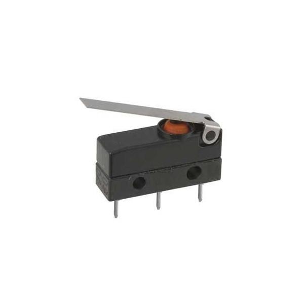 Deviatore finecorsa miniatura waterproof con leva 17mm