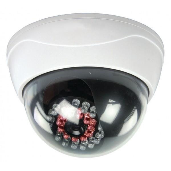 Telecamera finta dome con led infrarossi
