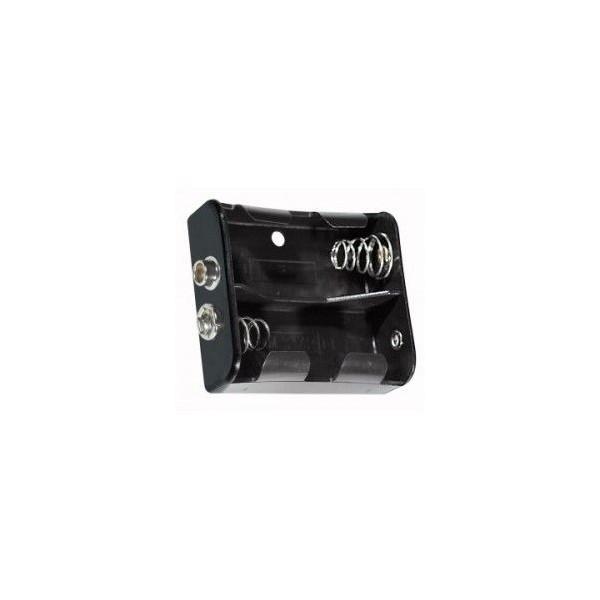 Portabatterie 2 torcia D