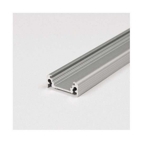 Profilo in alluminio anodizzato grigio