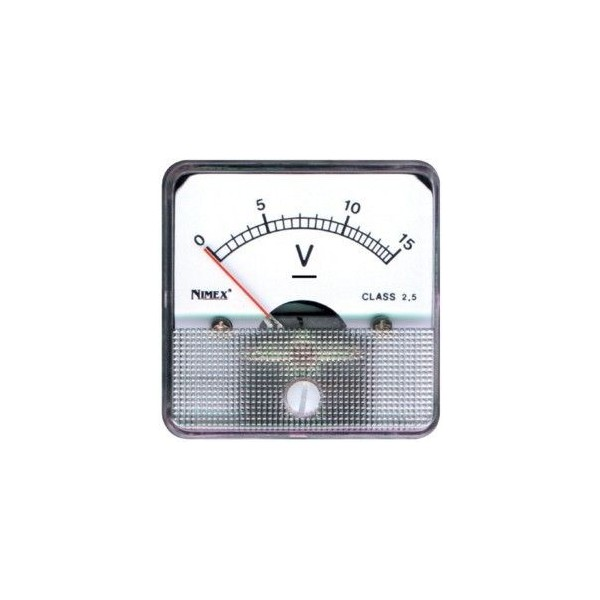 Voltmetro 15Vdc da pannello