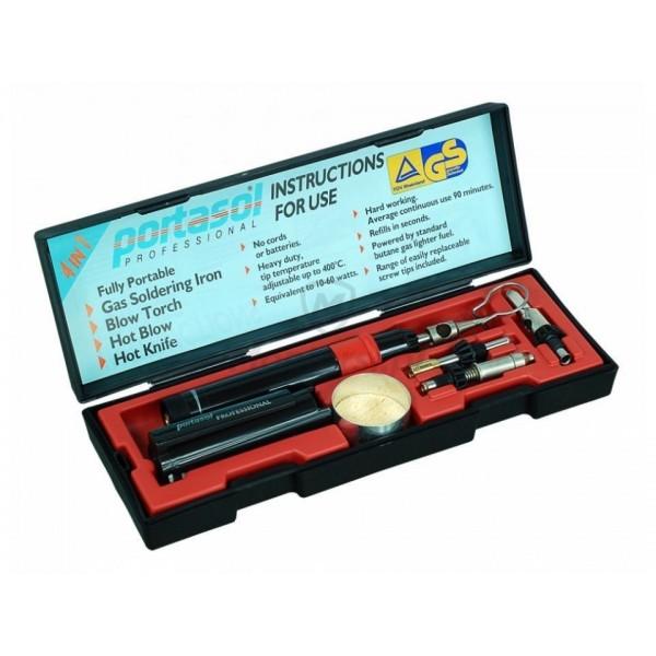 Saldatore a Gas Portasol Professional Kit