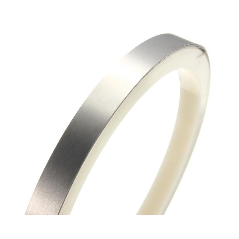 Lamina strip acciaio nichelato 8x0.2mm 1mt