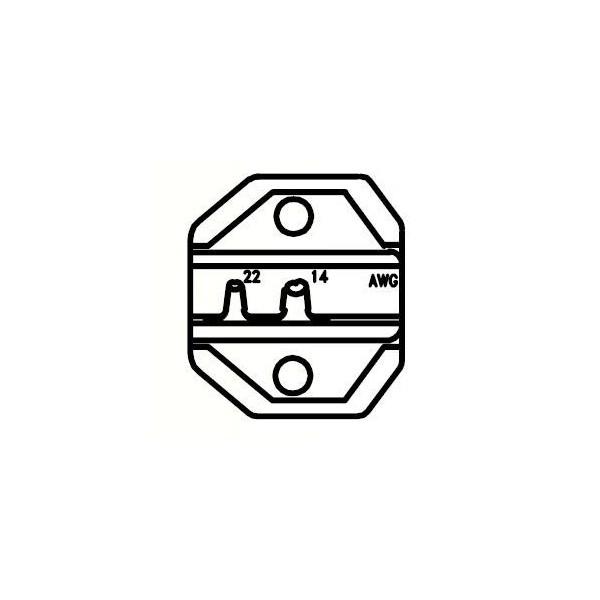 Inserto per pinza 3112940 CP236DU terminali sub-d