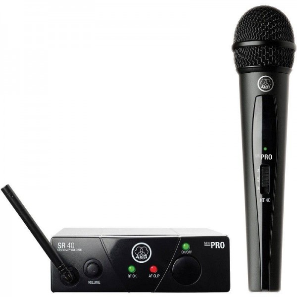 Kit radiomicrofono AKG WMS40 Pro Mini Vocal Set