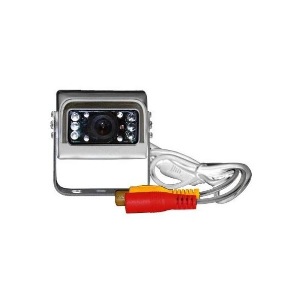 Telecamera per retromarcia rettangolare con 10 led IR