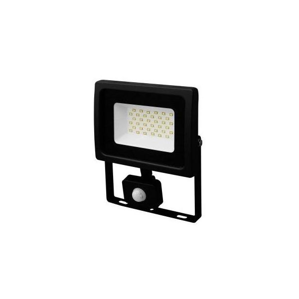 Faretto a LED da esterno 30W bianco naturale con PIR