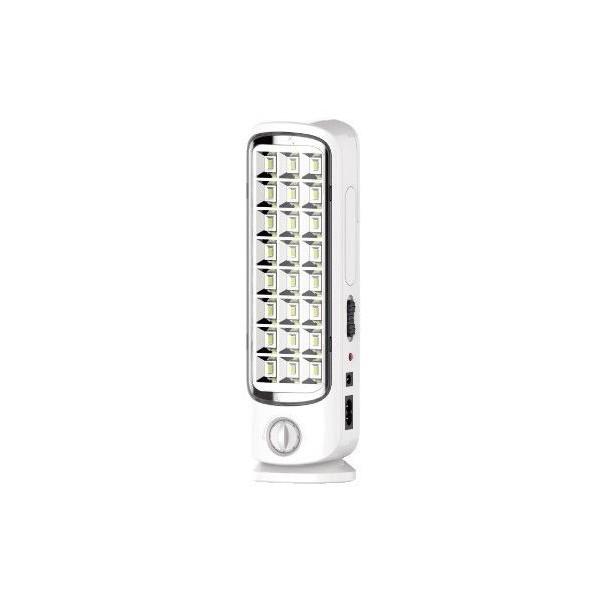 Lampada LED portatile emergenza ricaricabile 24 Led