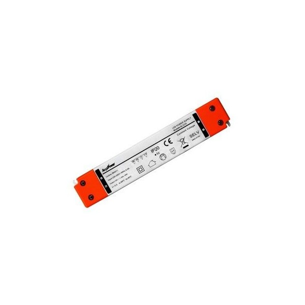 Slim power supply 24V DC 0.625A isolated with terminals
