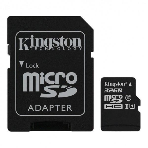 Micro SDHC 32Gb CLASSE4