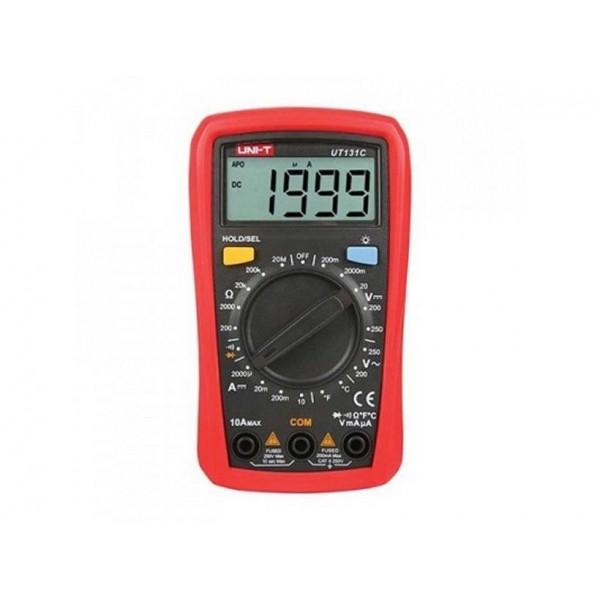 Multimetro digitale con temperatura UT131C