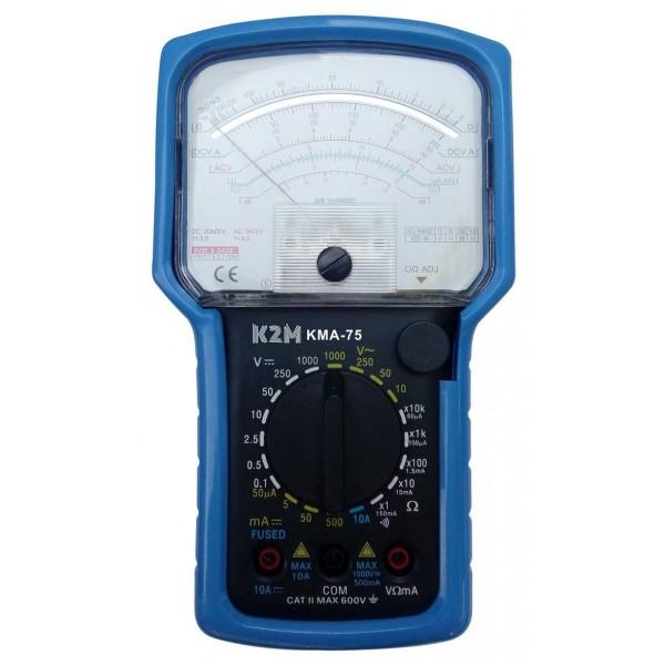 Multimetro analogico 6 funzioni KMA-75 con custodia