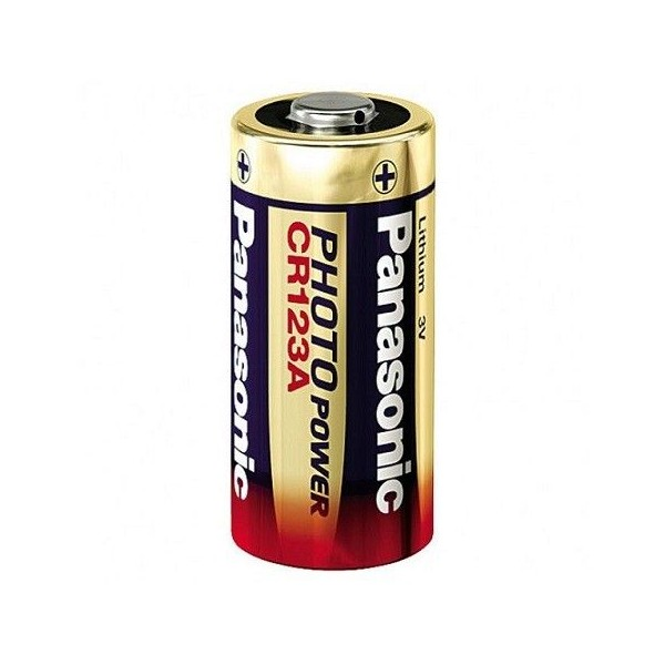 CR123 Lithium battery 3V Panasonic