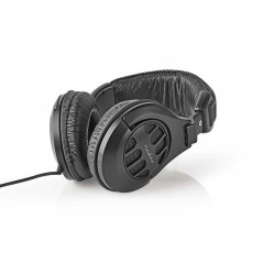 Headband headset with 2.5mt cable and volume regulator