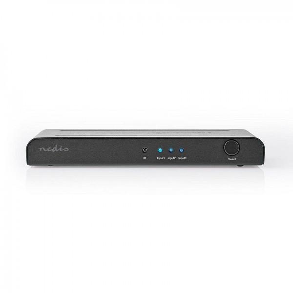 Multi-socket switch 3 4K HDMI 2.0 inputs