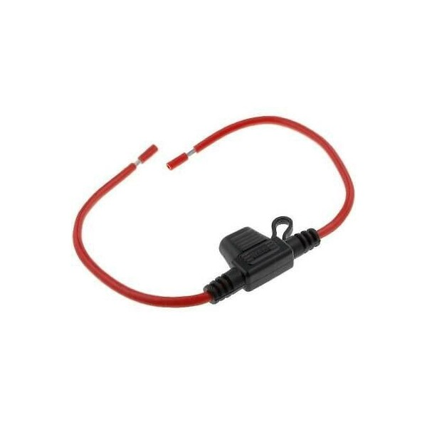 Fuse holder for mini blade fuses with cable