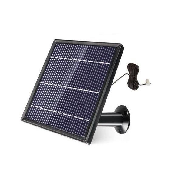 Charging solar panel with 5V micro USB output