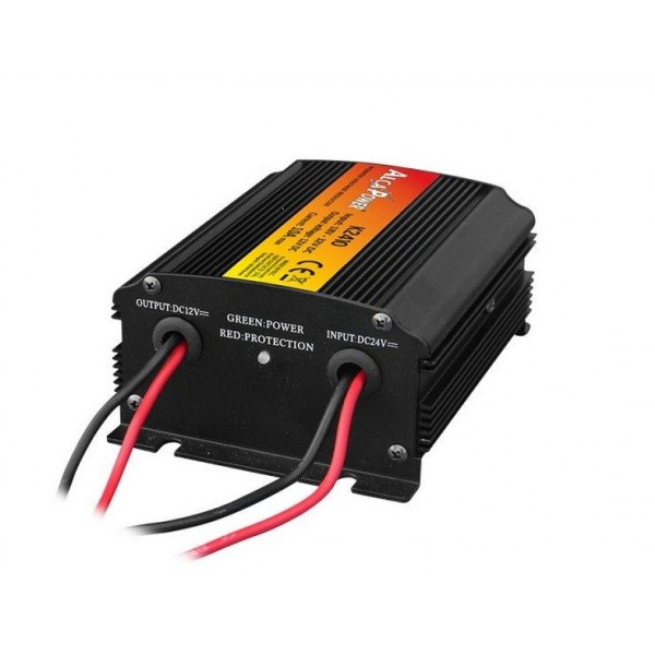 Voltage reducer from 24 to 12v 10A