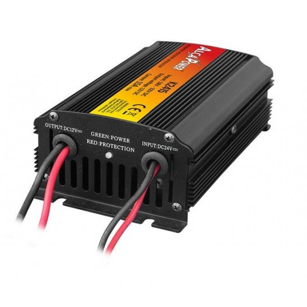 Voltage reducer from 24 to 12v 15A