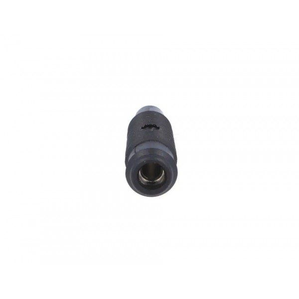 Black flying 4mm banana socket
