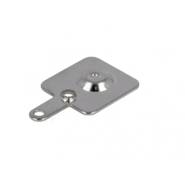 Spring contact for positive pole battery holder