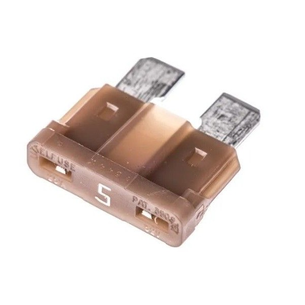 Brown 5A blade fuse