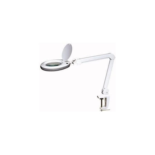 LED table lamp with 5 diopters lens