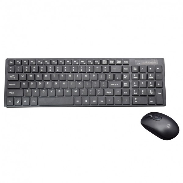Italian wireless keyboard and mouse kit
