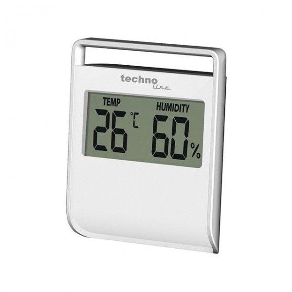 Thermometer - digital hygrometer with magnetic support