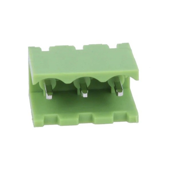 Removable 3-pole male straight terminal 5mm length length for PCB