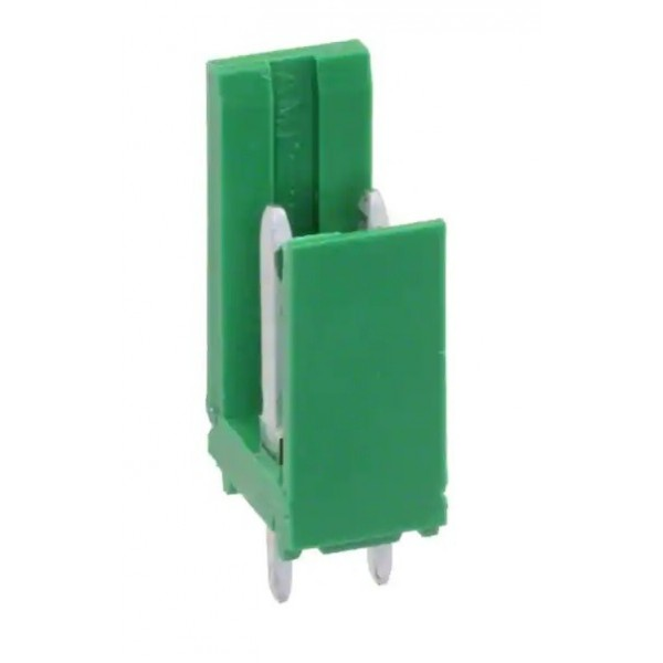 2-pole male connector from AMP PCB MODU I series 280609-1