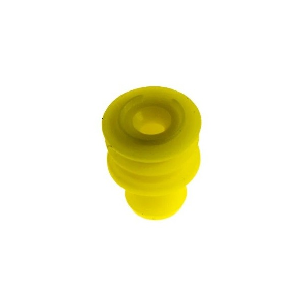 AMP SUPER SEAL 1.4mm yellow rubber grommet 281934-2