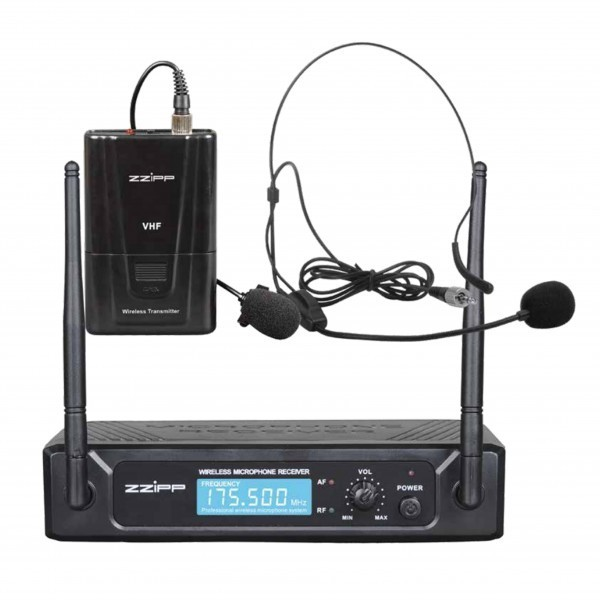 VHF 183.57Mhz wireless headset wireless microphone kit