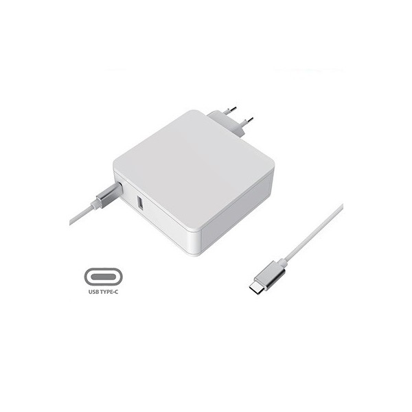 Universal 4.5A power supply with USB C 90W